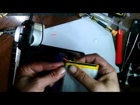 Планшет Ritmix RMD-1040 ремонт системы зарядки.