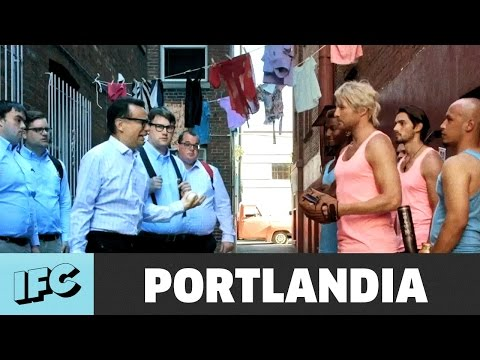 Nerds vs. Hunks Rumble ft. Ryan Hansen  Portlandia  IFC