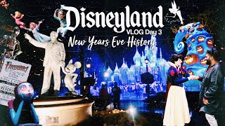Disneyland 2018 Day 3: New Years Eve History | VLOG Day 67