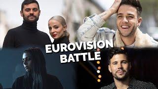 Eurovision BATTLE   2020 vs 2019 vs 2018 vs 2017 (MY FAVOURITES)