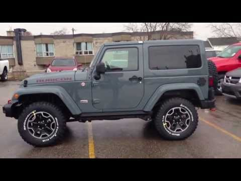 Jeep Rubicon 10th Anniversary Edition Red Interior