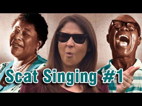 Scat Singing (Jazz Tutorial) For BEGINNERS (Part 1)