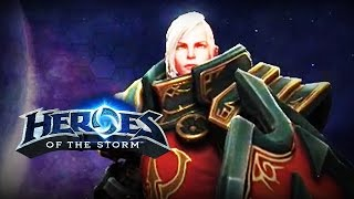♥ Heroes of the Storm (Gameplay) - Johanna, Boringly Fantastic (HoTs Quick Match)