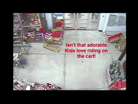 Big Rig - Florida Woman Almost Ditches Child To Shoplift