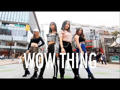 "[KPOP IN PUBLIC VANCOUVER] SEULGI X SinB X CHUNG HA X SOYEON: ""WOW THING"" Dance Cover [K-CITY]"