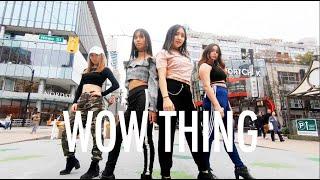 "[KPOP IN PUBLIC VANCOUVER] SEULGI X SinB X CHUNG HA X SOYEON: ""WOW THING"" Dance Cover [K-CITY]"