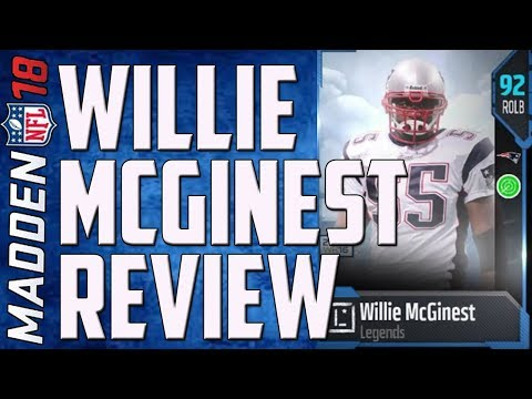 HOW GOOD IS 91 OVERALL WILLIE MCGINEST? - MUT 18 CARD REVIEW
