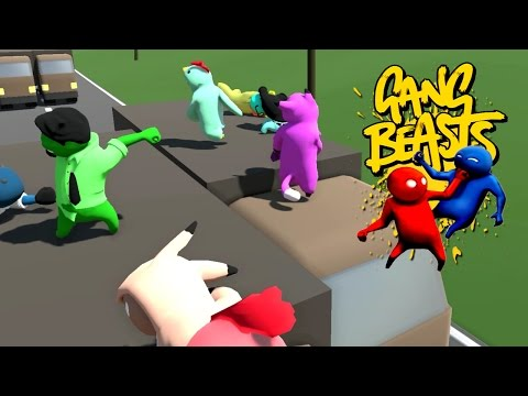 GANG BEASTS ONLINE - Must. Not. Let. Him. Win.