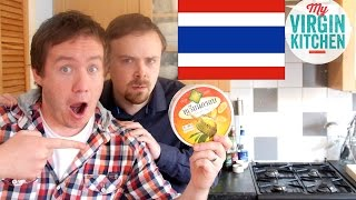 Repeat youtube video TASTING SOME THAI TREATS ft ASHENS