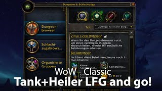WoW Classic - Tank + Heiler LFG (Deutsch / German)