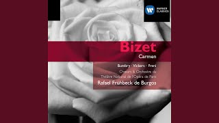 Carmen - Opera in four acts, Act II: Les tringles des sistres tintaient