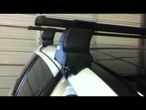 Ford Edge Outfitted With Thule Traverse Roof Rack By Rack