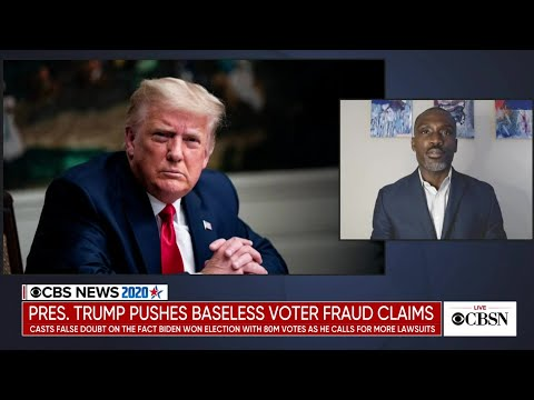 President Trump pushes baseless voter fraud claims as more of his campaign lawsuits fail