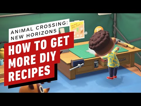 How to Get More DIY Recipes in Animal Crossing: New Horizons