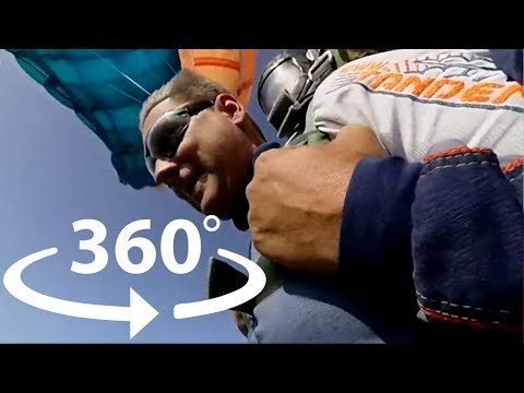 SkyDiving in VR 360 VIDEO – Virtual Reality ‼️