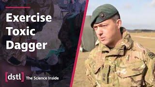 Dstl's Jav Jaffer & Lt Col Paul Maynard - CO 40 Cdo talking about Ex Toxic Dagger