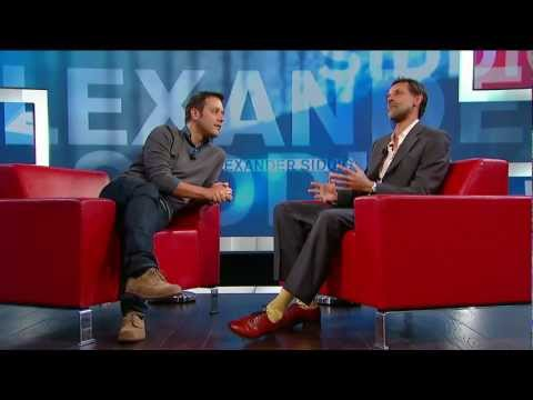 Alexander Siddig on George Stroumboulopoulos Tonight: BIO and