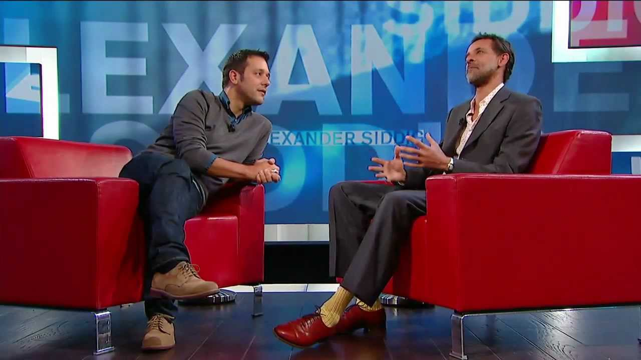 Alexander Siddig on George Stroumboulopoulos Tonight: BIO ...