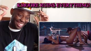 KMOORE RUINS EVERYTHING COMPILATION REACTION!!!