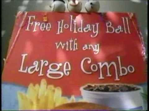 ADVENT CALENDAR Day 8  Jack in the Box holiday antenna balls ad, 2005