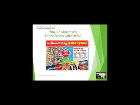 Grow Your Business -- Making Gift Cards Your Number 1 SKU