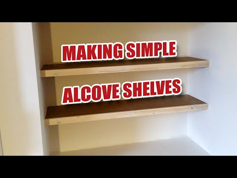 I'm Making Some Simple Floating Alcove Shelves [23]