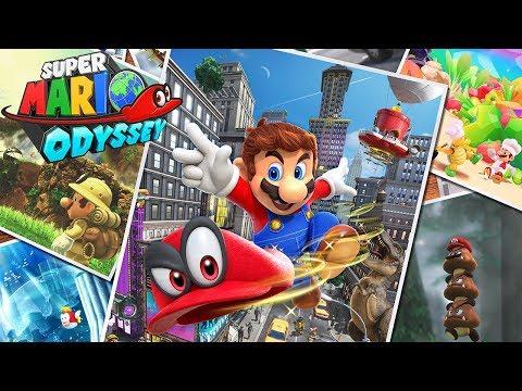 Super Mario Odyssey (100%) : Part 4 - A Desert Stone Cold (Sand Kingdom - 1/5)