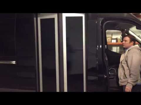 Detroit Custom Coach - Ford Transit Bus Door Conversion