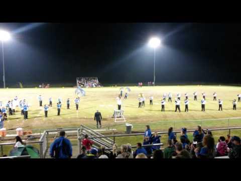 Clinton County high school marching band - Mirada