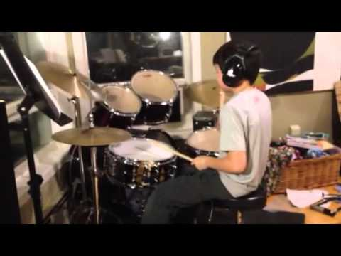 Snare , high hat, crash, tom1, tom2, tom 3, ride, bass drum