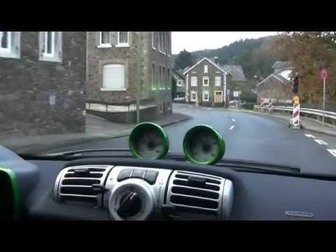 Smart electric drive - Fahrbericht Elektroauto