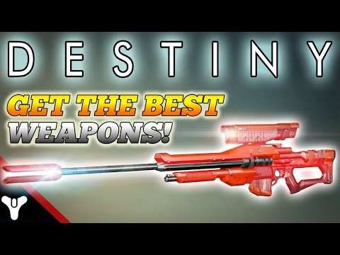 Destiny how to get the best weapons get 100 attack weapons w
