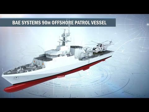 BAE Systems - New River-Class Offshore Patrol Vessels For The Royal Navy [1080p]