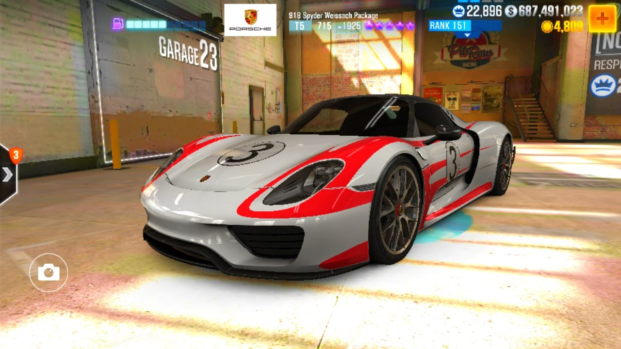csr 2 porsche 918 spyder weissach package tune youtube. Black Bedroom Furniture Sets. Home Design Ideas