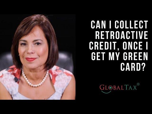 Retroactive Credits