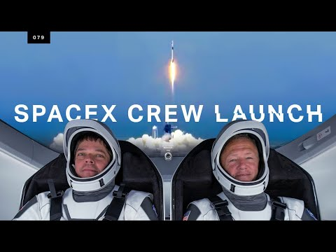 SpaceX just launched humans to space for the first time
