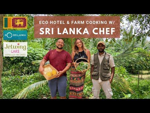 Sri Lanka Eco Hotel   Organic Farm   Private Chef   Jetwing Lake   Dambulla 🇱🇰