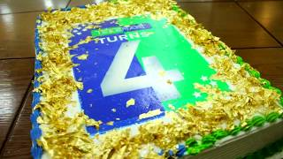Cake with edible gold | Telemart.pk
