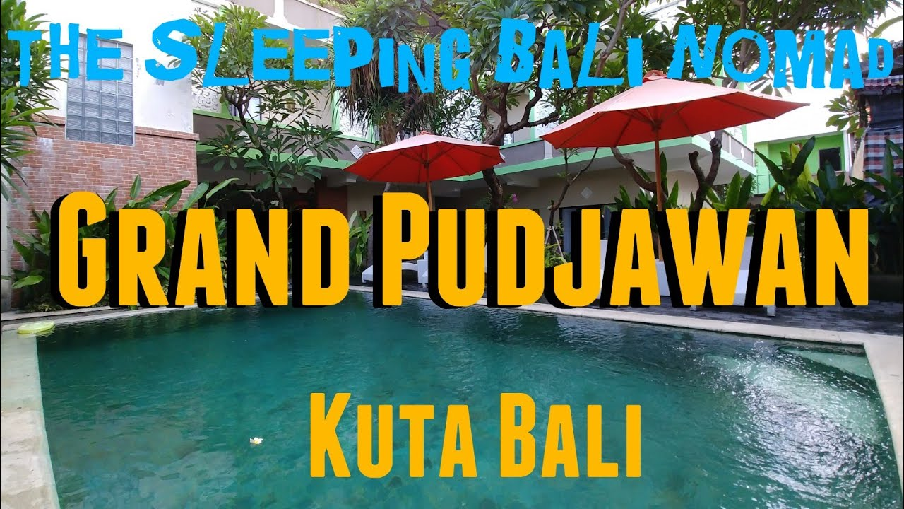 Oyo 1666 Grand Pudjawan Hotel Kuta Bali Where To Stay In Kuta Bali Cheap Hotels In Kuta Bali Youtube