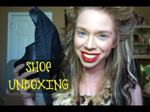 SHOE UNBOXING!-  BALLERINA PLATFORMS