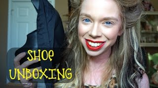 SHOE UNBOXING!-  BALLERINA PLATFORMS thumbnail