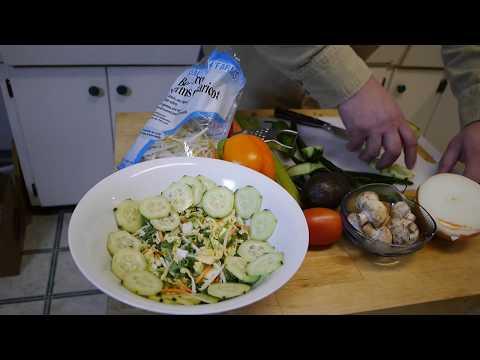 How to make Bami Goreng and Sate Sauce for Salads