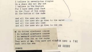Nick Cave & The Bad Seeds - Mermaids (Lyric Video)