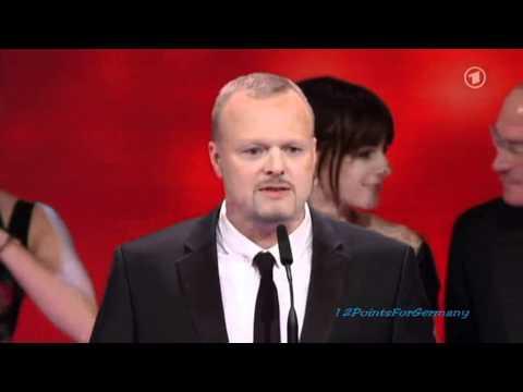 Stefan Raab & Lena Meyer-Landrut @ Deutscher Fernsehpreis 2010