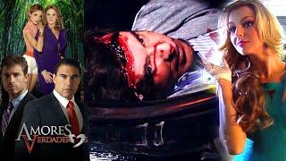 Amores Verdaderos: ¡Kendra asesina a Nelson! | Escena - C94