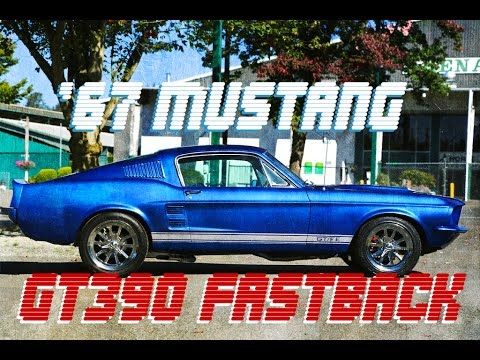 1967 Mustang GT390 Fastback in Acapulco Blue