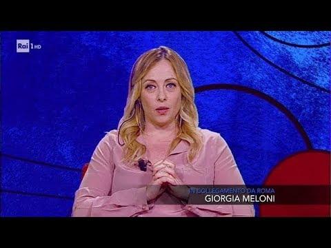 Giorgia Meloni - Che tempo che fa 20/05/2018