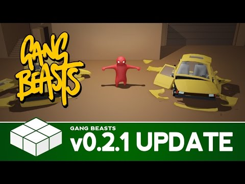 Gang Beasts Unity 5 Update - New Prototypes, Lighting & Physics