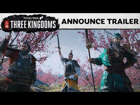 Total War: THREE KINGDOMS - Announcement Cinematic