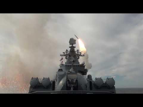 Отражение атаки условного противника кораблями ТОФ в Охотском море